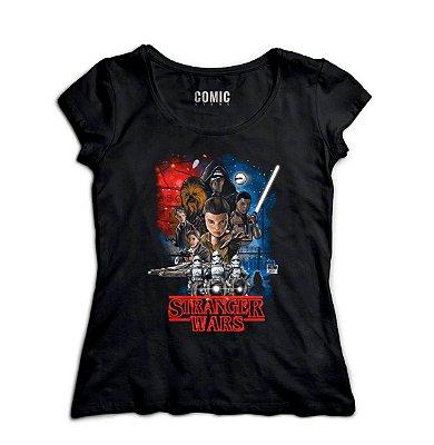 Camiseta Feminina  Stranger Wars