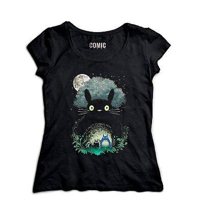 Camiseta Feminina  Totoro