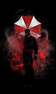 Camiseta Umbrella Resident Evil