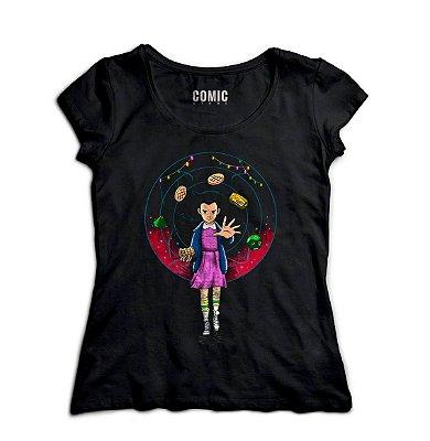 Camiseta Feminina  Stranger Things - Eleven