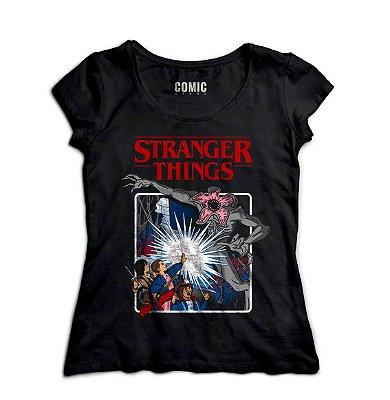 Camiseta Feminina  Stranger Things - Serie