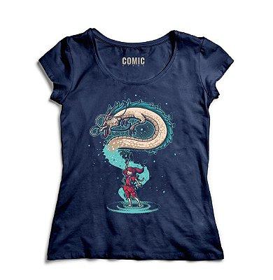 Camiseta Feminina  Chihiro Dragon