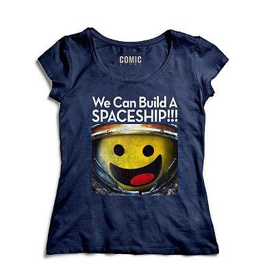 Camiseta Feminina LEGO Minifigure Spaceship