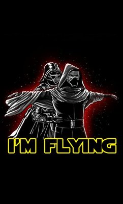 Camiseta Star Wars - Darth Vader I'm Flying
