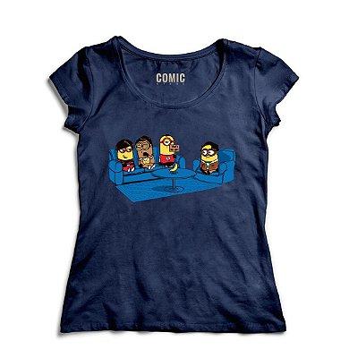 Camiseta Feminina Minions Despicable Me