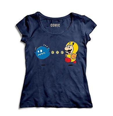 Camiseta Feminina Super Mario Power Pellet Power