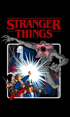 Camiseta Stranger Things - Serie