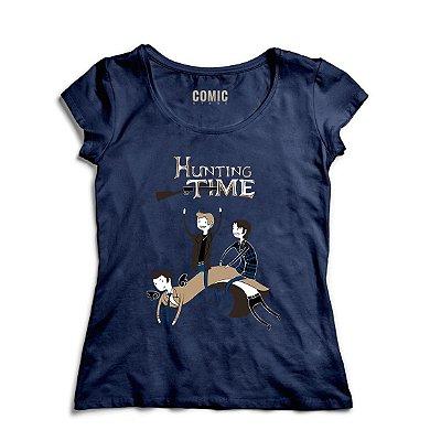 Camiseta Feminina Hunting Time