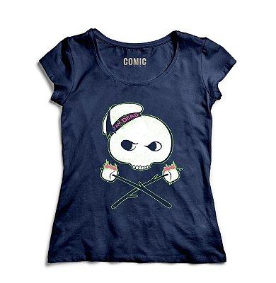 Camiseta Feminina  Ghostbusters Marshmallow