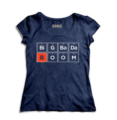 Camiseta Feminina Chemical Element