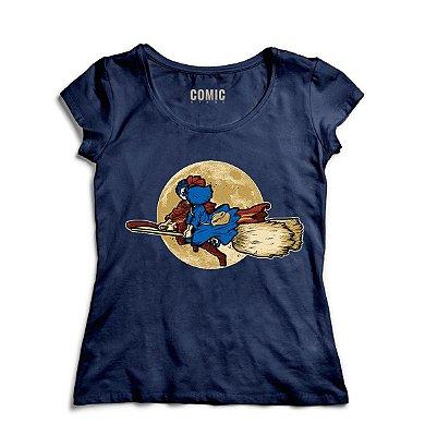 Camiseta Feminina Harry Potter Wizards Love Witches