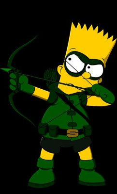 Camiseta Aqueiro Bart Simpson - Arrow