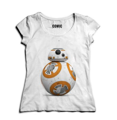 Camiseta Feminina Star Wars - BB8
