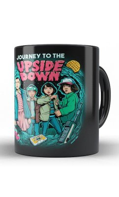 Caneca Stranger Things - Upside Down