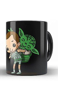 Caneca Eleven Stranger Things e Yoda