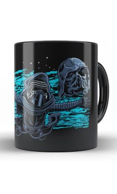Caneca Star Wars - Darth Vader Zombi