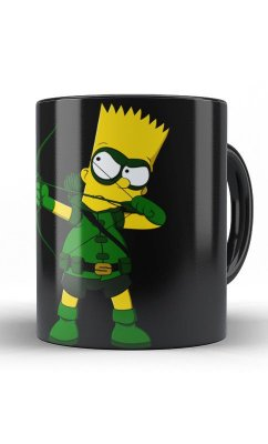 Caneca Aqueiro Bart Simpson - Arrow