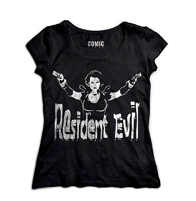 Camiseta Feminina Resident Evil