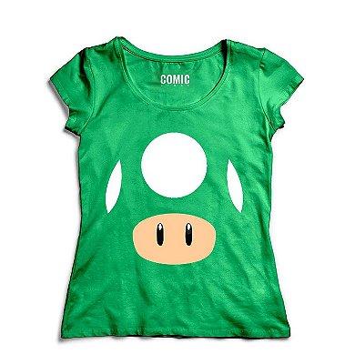 Camiseta Feminina Told - Super Mario