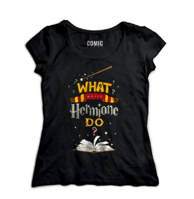 Camiseta Feminina Harry Potter - Hermione