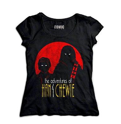 Camiseta Feminina Star Wars Chewbacca
