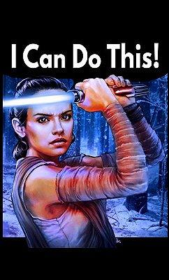 Camiseta Star Wars - Rey
