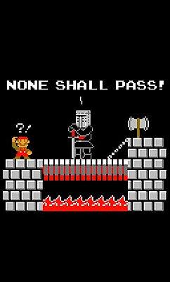 Camiseta Super Mario - Chefão