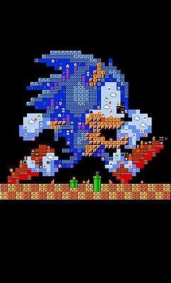 Camiseta Sonic - Game