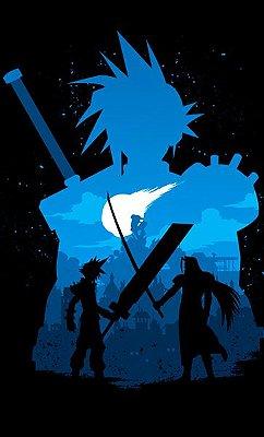 Camiseta Final Fantasy - Videogame
