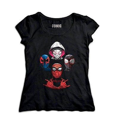 Camiseta Feminina Home Aranha - Dark