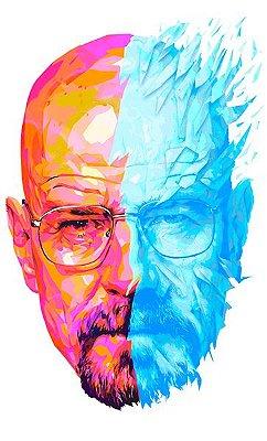 Camiseta Heisenberg Face