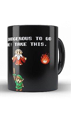 Caneca Zelda Link