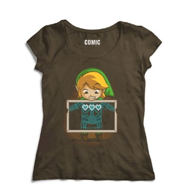 Camiseta Feminina The Legend of Zelda