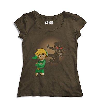 Camiseta Feminina The Legend of Zelda - Dark