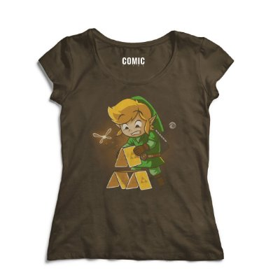 Camiseta Feminina Link The Legend of Zelda