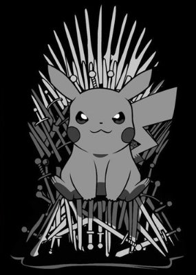 Camiseta Pokemon Thrones