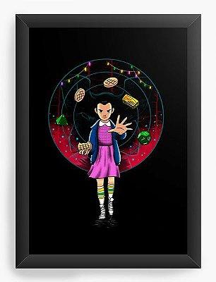 Quadro Decorativo Stranger Things - Eleven