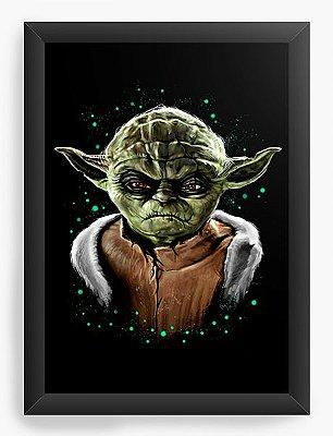 Quadro Decorativo Yoda