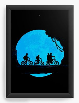 Quadro Decorativo Stranger Things - Fuga