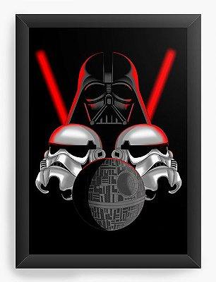 Quadro Decorativo Star Wars - Stormtrooper