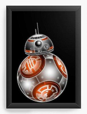 Quadro Decorativo Star Wars - BB-8