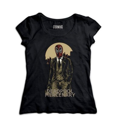 Camiseta Feminina DeadPool Mercenary