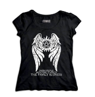 Camiseta Feminina Supernatural - Family