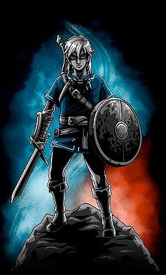 Camiseta Zelda - Link Game