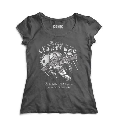Camiseta Feminina Buzz Lightyear