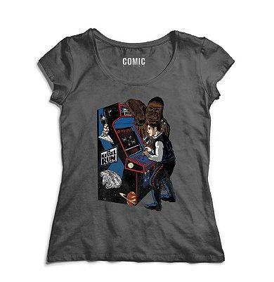 Camiseta Feminina Han Solo - Star Wars