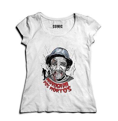 Camiseta Feminina Chaves - O seu Madruga