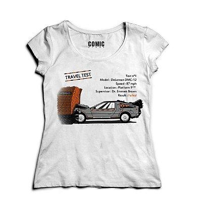 Camiseta Feminina De volta Para o Futuro