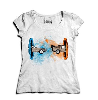 Camiseta Feminina De volta Para Futuro - Filme