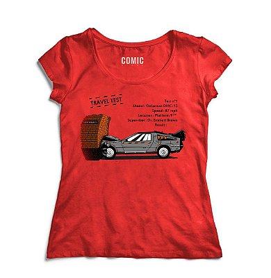 Camiseta Feminina De Volta para o Futuro 5